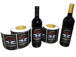 红酒标印刷