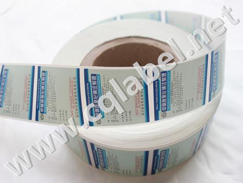 输液水卷筒标签印刷