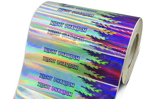 镭射不干胶标签印刷