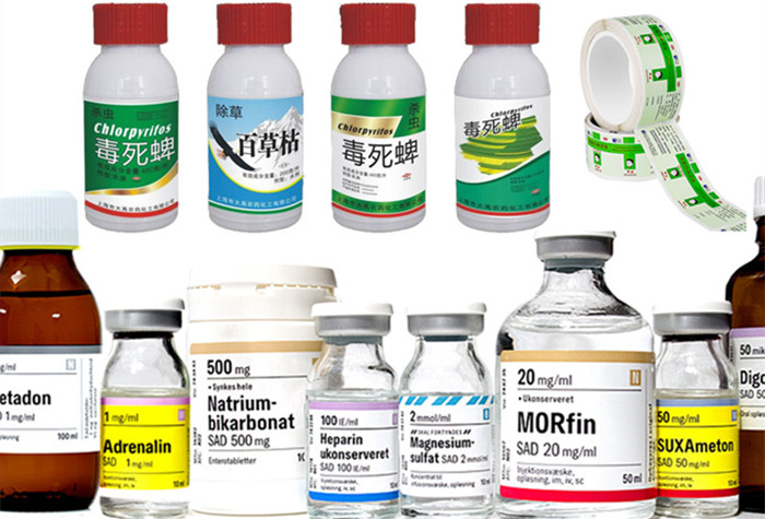 兽药不干胶标签印刷