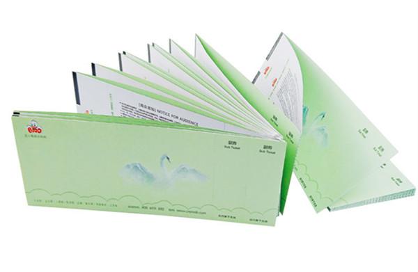 景区门票印刷厂家